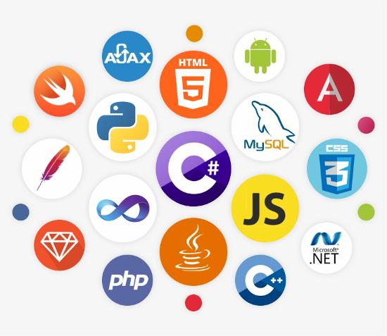 lenjuages programacion pyton html5 android javascript .net framework